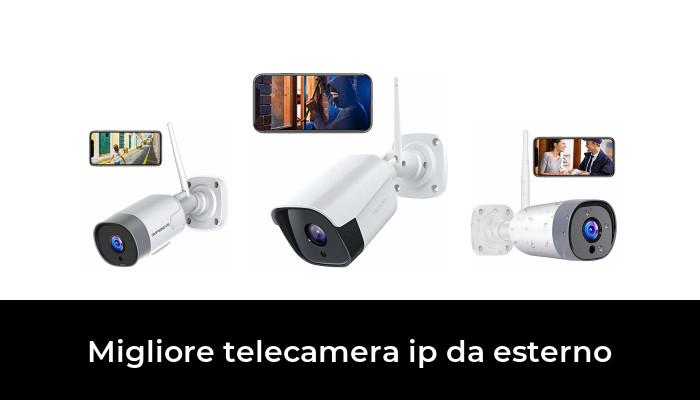 Audio a 2 Vie,Motion Detection Impermeabile,sorveglianza di Sicurezza YAYY IP Camera PTZ Telecamera Esterno Auto Tracking CCTV 1080P Full HD IP Telecamera WiFi Dome Telecamera,30m Visione Notturna